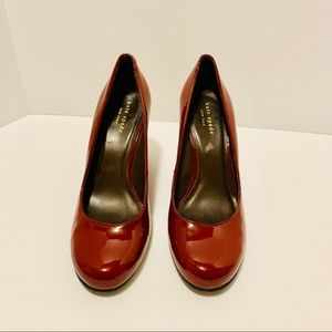 Kate Spade Garnet Wedge Shoes Size 8